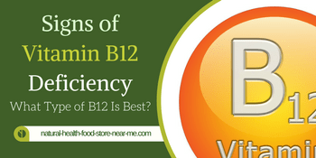 Signs of Vitamin B12 deficiency