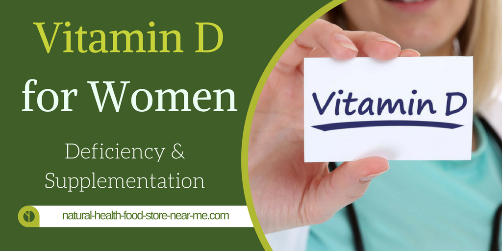 Vitamin D for women