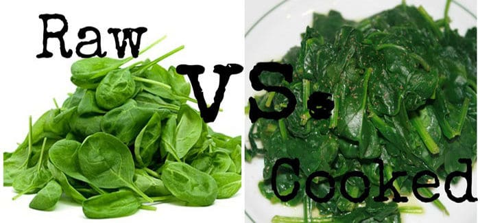raw versus cooked