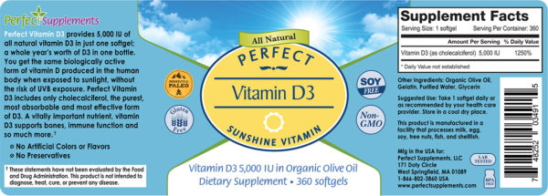 Label Vitamin D3 softgels v4