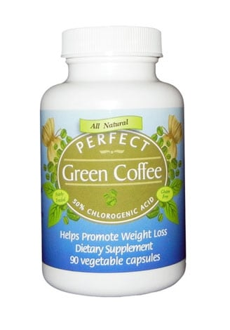 Perfect Green Coffee - 100% Pure Green Coffee Bean Extract ...