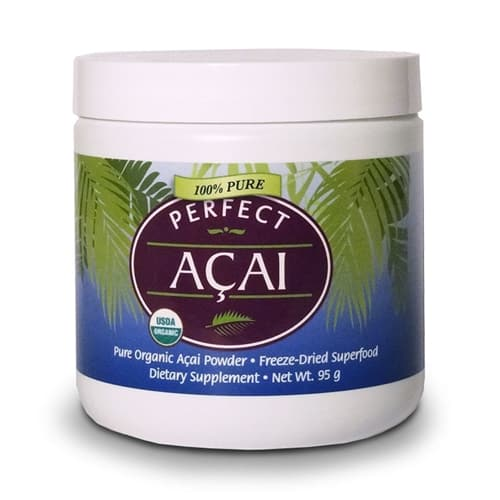 PERFECT ACAI POWDER - THE PUREST ORGANIC ACAI BERRY POWDER - 95G