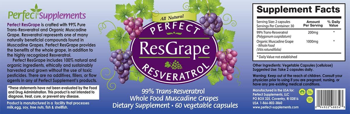 Resveratrol Supplements Whole Foods