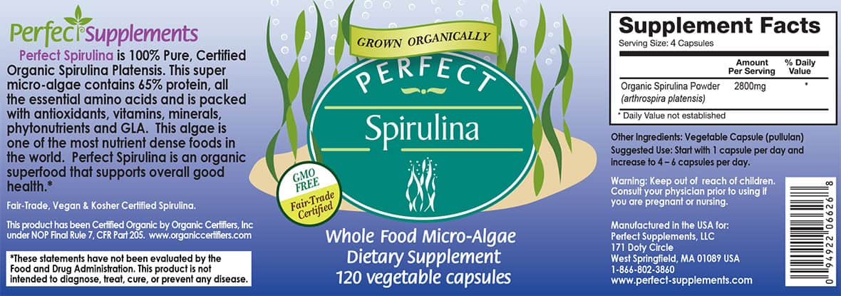Perfect Spirulina - Organic & Fairly-traded Spirulina ...